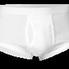 Hvide Underbukser med gylp og ben - JBS