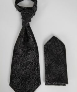 Smuk kravat med pynteklud