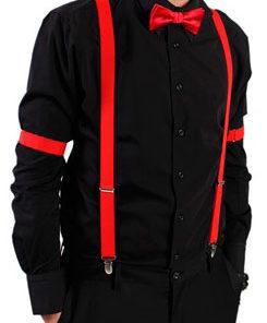 eksempel på rødt outfit