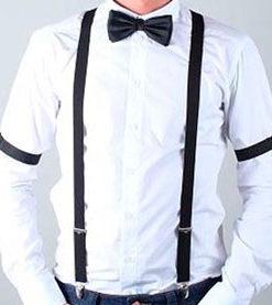 Eksempel på sort outfit