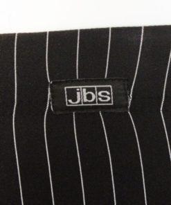 Sorte Tights med hvide striber - JBS