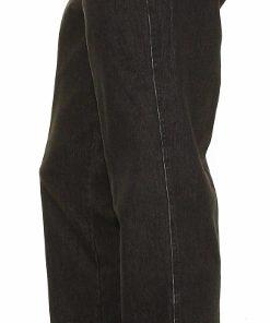 Profil på sorte jeans fra Bruhl