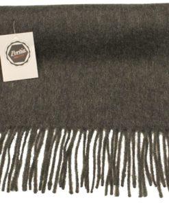 Cashmere tørklæde i koksfarve