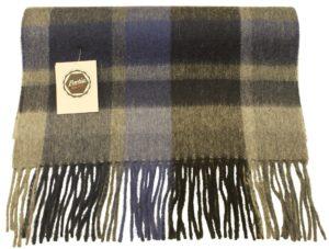 Tørklæde i uld og cashmere