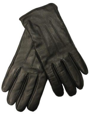 Sorte gedeskinds handsker hos Otto Johansen