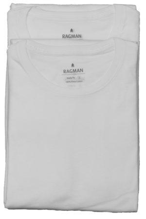2 pak hvide tshirts fra Ragman