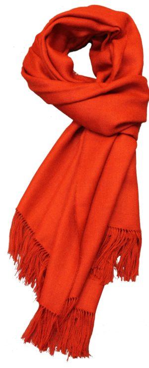 Rødt halstørklæde fra Elvang