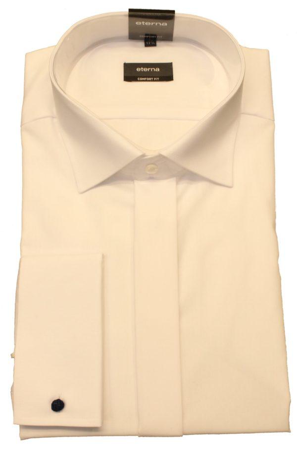 Flot hvid smoking skjorte fra Eterna
