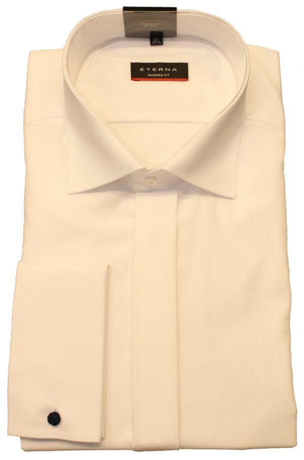 Hvid smoking skjorte fra Eterna og i Modern fit