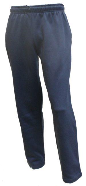 Blå joggingbukser uden rib kant - Camus